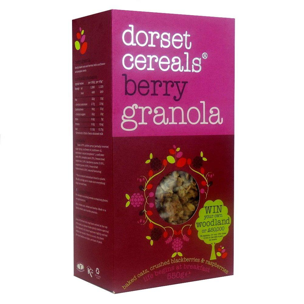 Dorset Cereals Berry Granola 550g