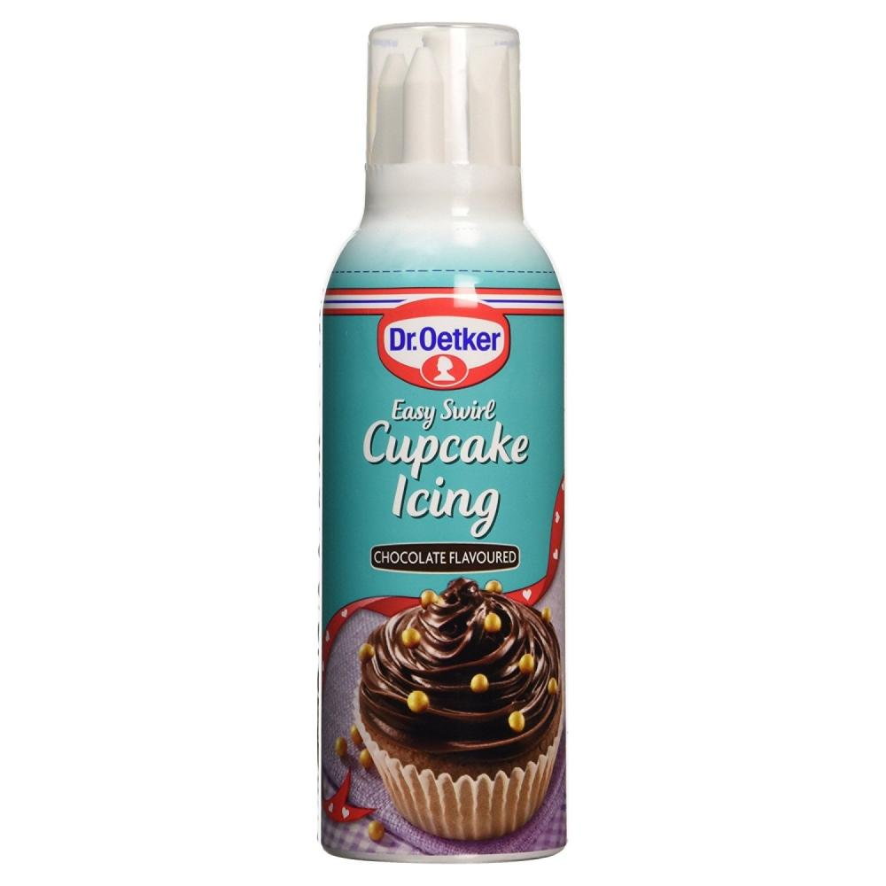 Dr Oetker Cupcake Icing Chocolate Flavour 180g