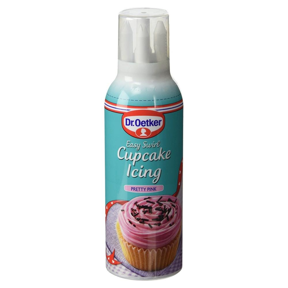 Dr Oetker Cupcake Icing Pretty Pink 180g