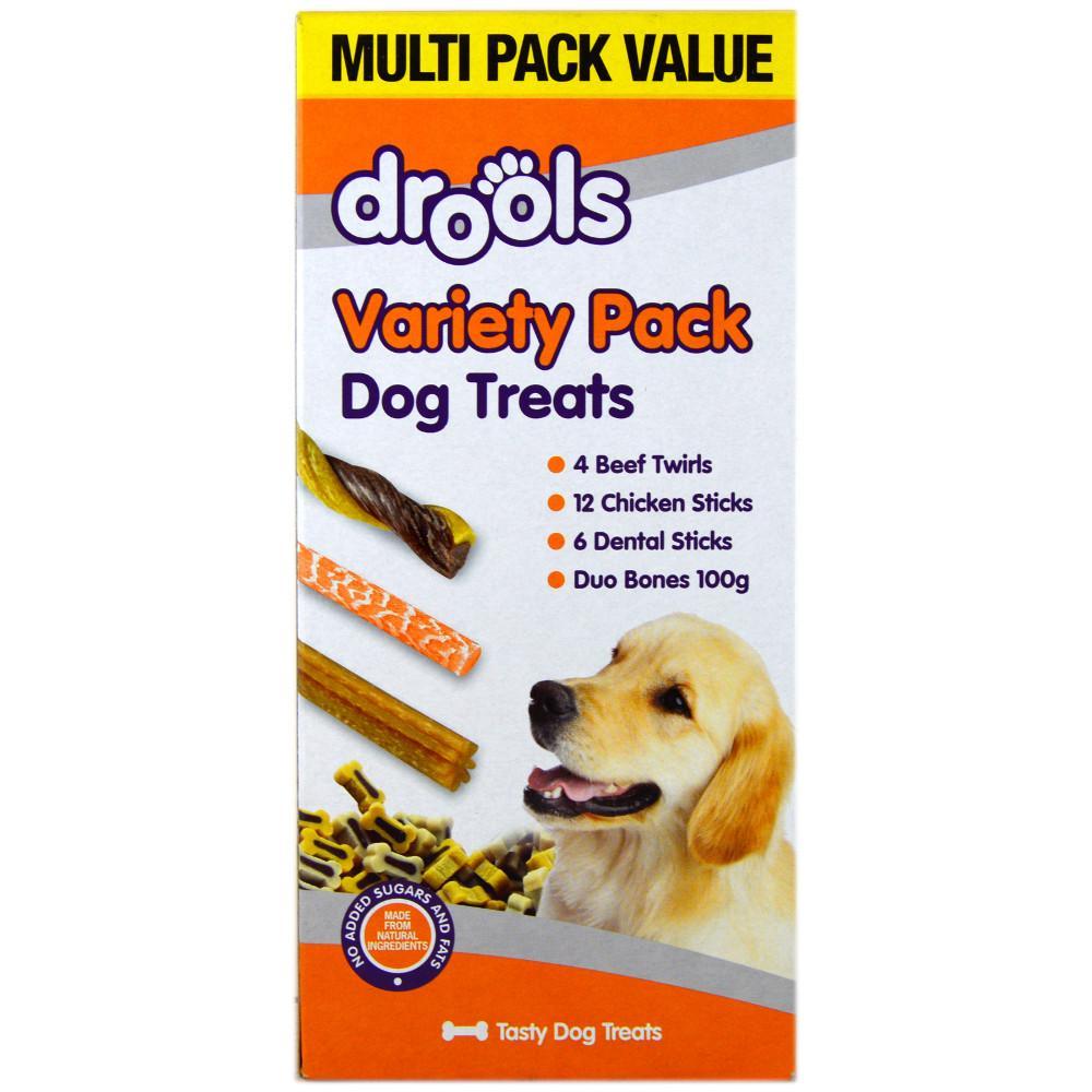 Drools Variety Pack Dog Treats 370g