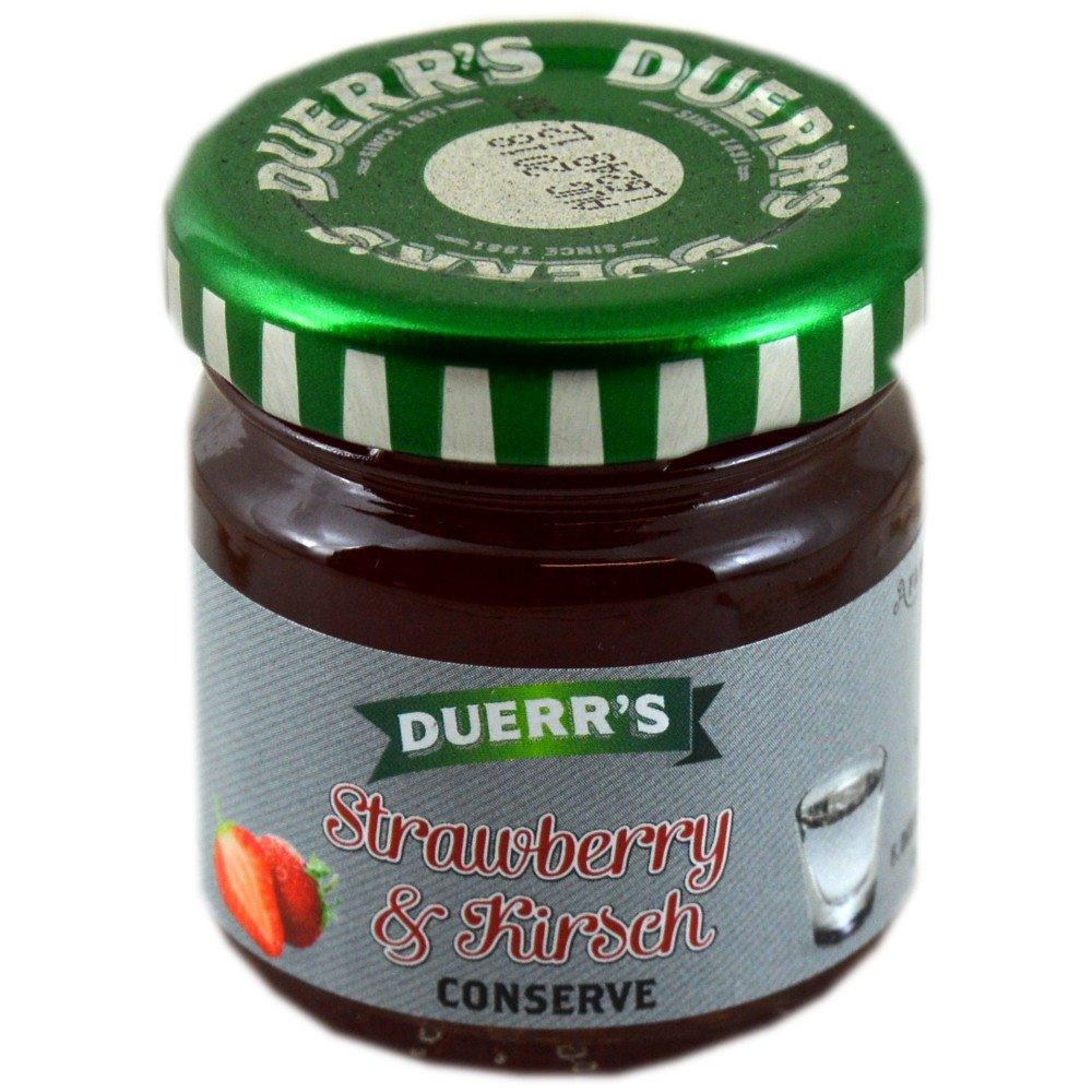 Duerrs Strawberry and Whisky Conserve 42g
