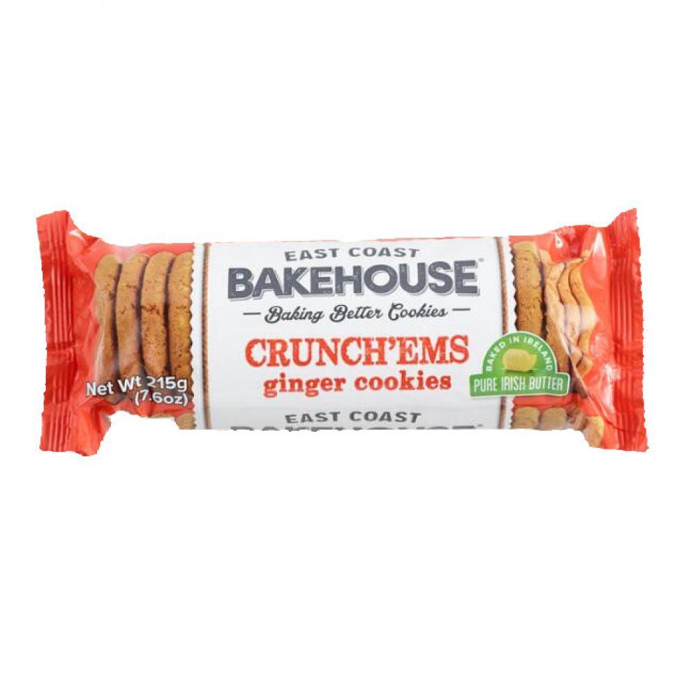 East Coast Crunchems Ginger Crunch 215g