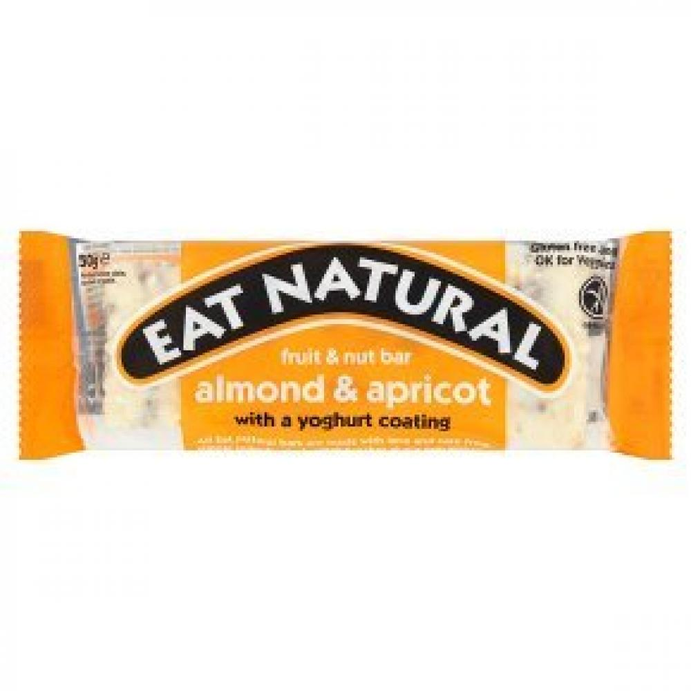 Eat Natural Almonds Apricots and a Yoghurt Coating 50g