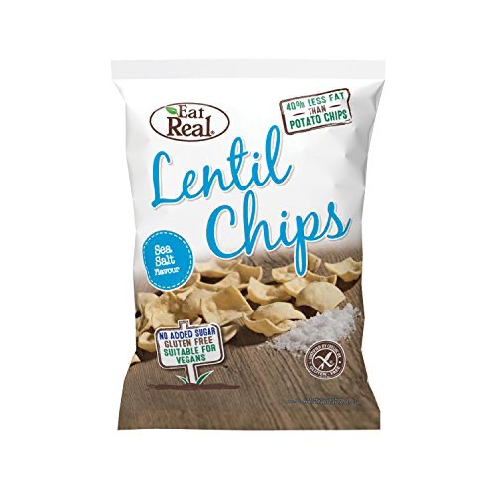 Eat Real Lentil Sea Salt 113g