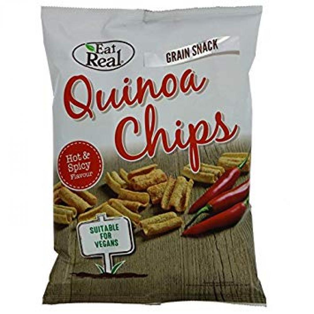 Eat Real Quinoa Hot and Spicy 80g