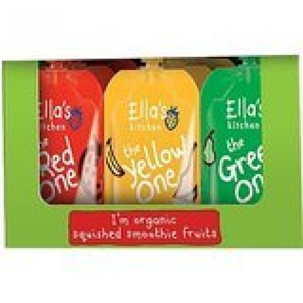 Ellas Kitchen Smoothie PouchesThe RedGreen and Yellow One (25x90g) 2.25 kg