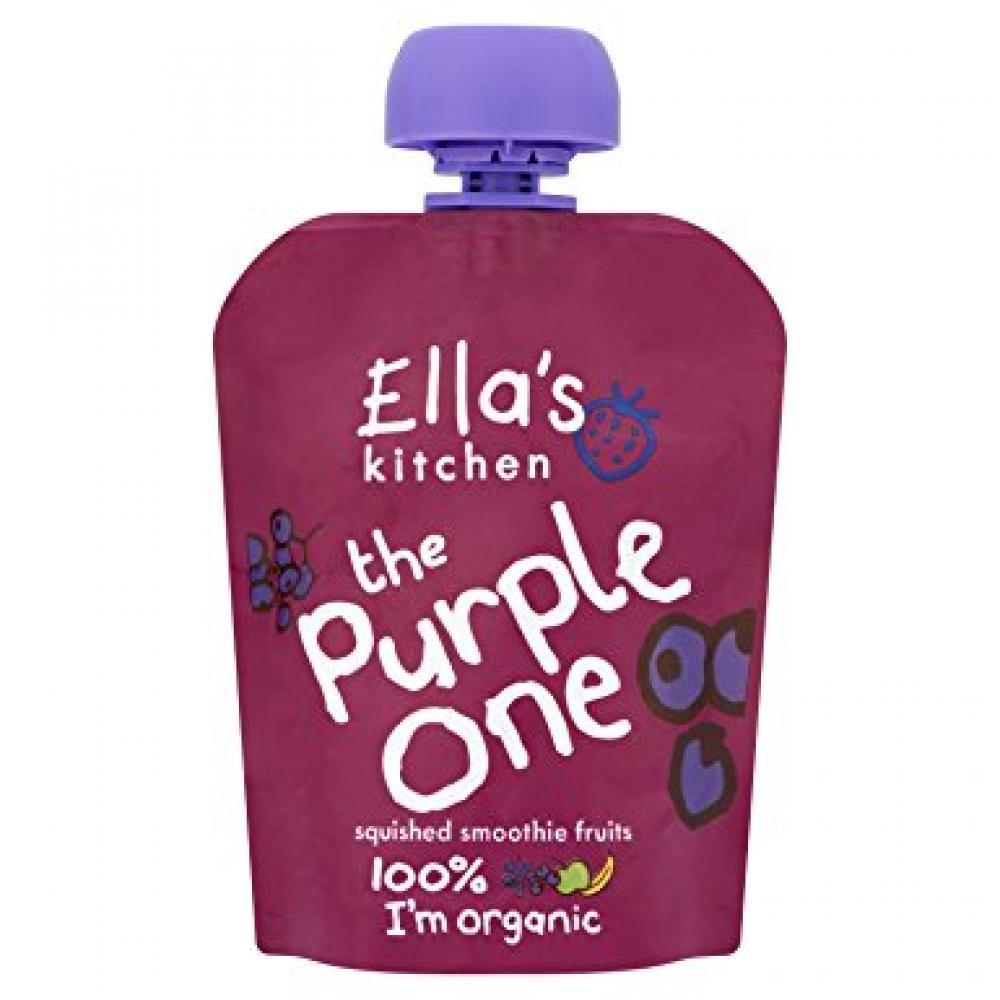 Ellas Kitchen The Purple One Organic Smoothie Fruits 90 g