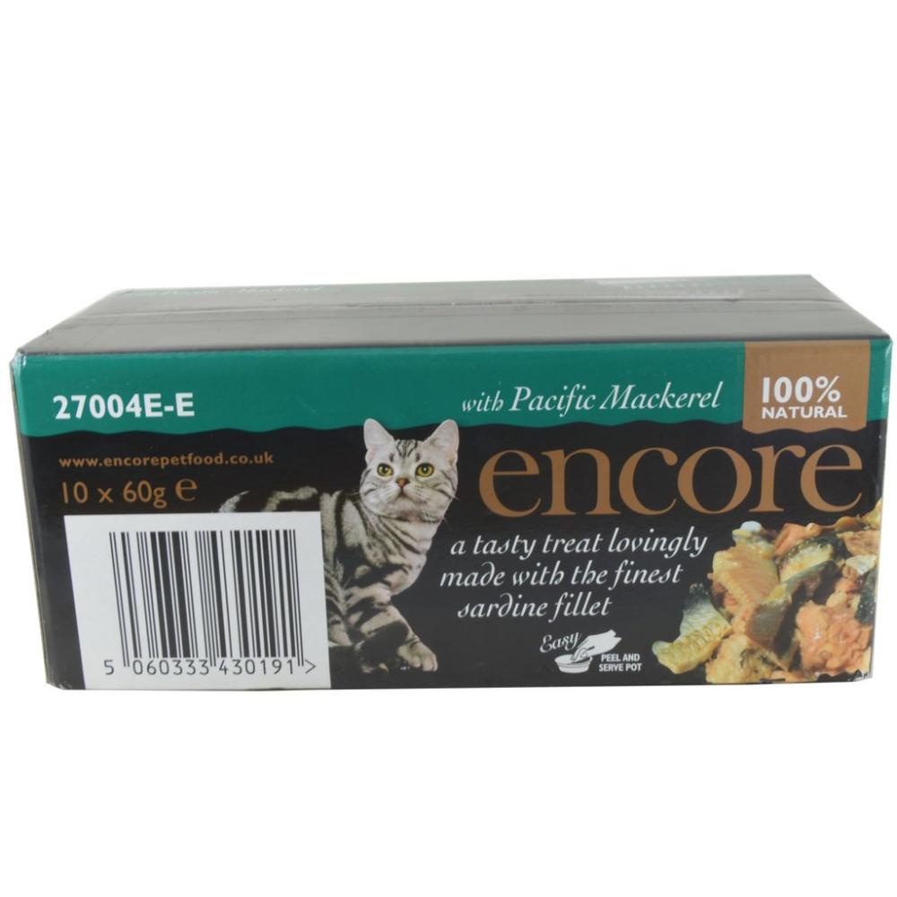 Encore With Pacific Mackerel 10 x 60g