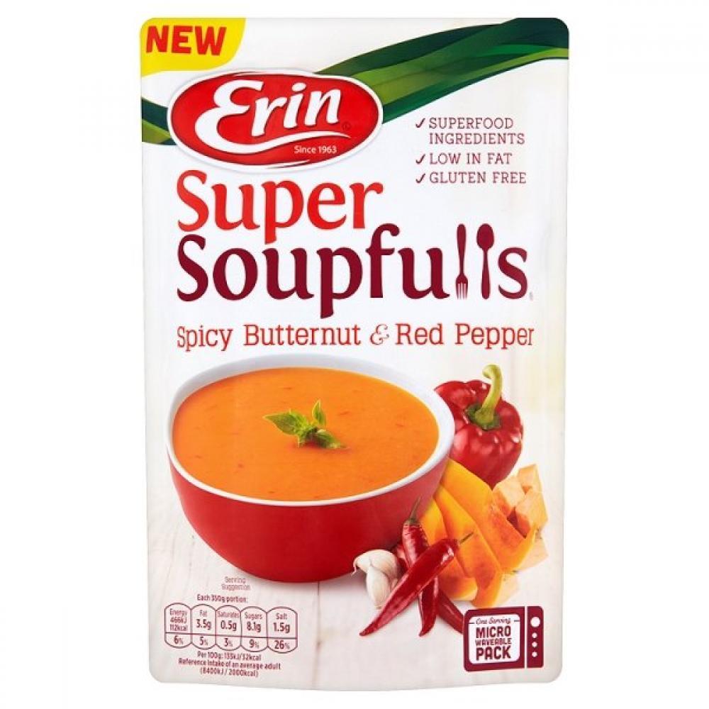 Erin Super Soupfulls Spicy Butternut and Red Pepper 350g