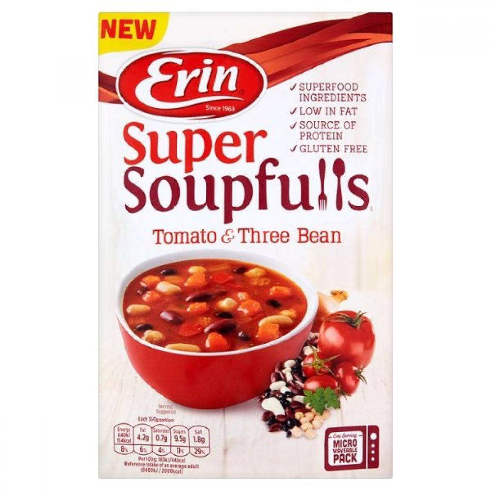Erin Super Soupfulls Tomato and Three Bean 350g