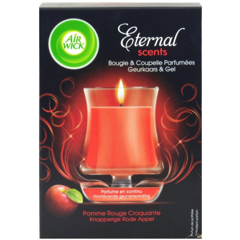 Air Wick Eternal Scents Candle and Cup Crunchy Red Apple