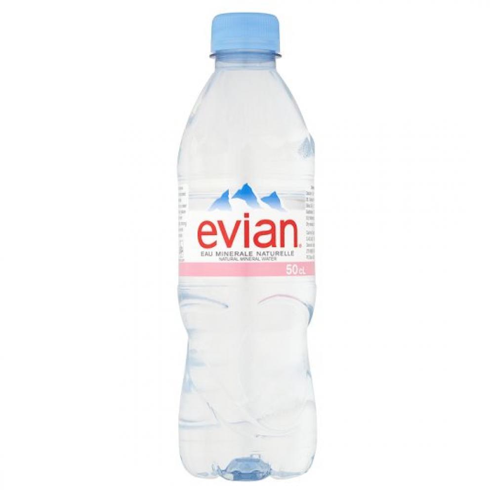Evian Still Mineral Water 0.5L