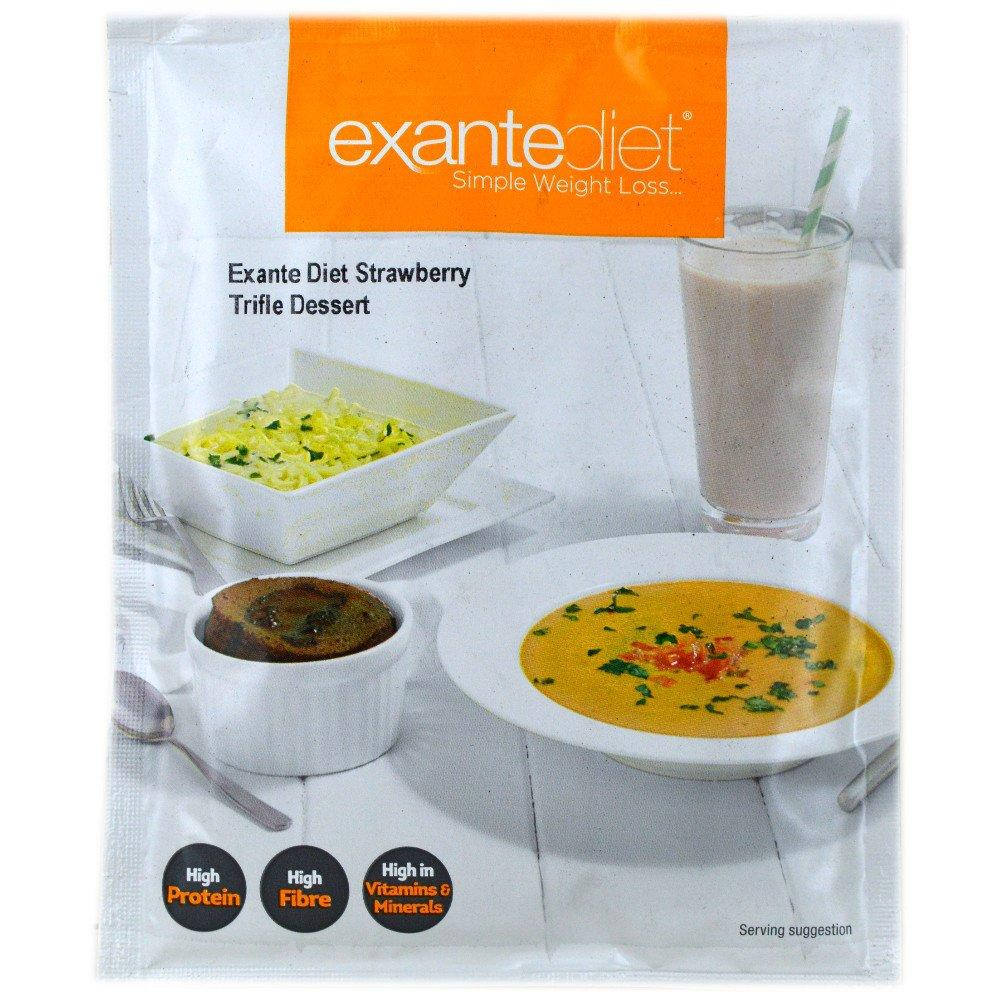 Exante Diet Strawberry Trifle Dessert 54g