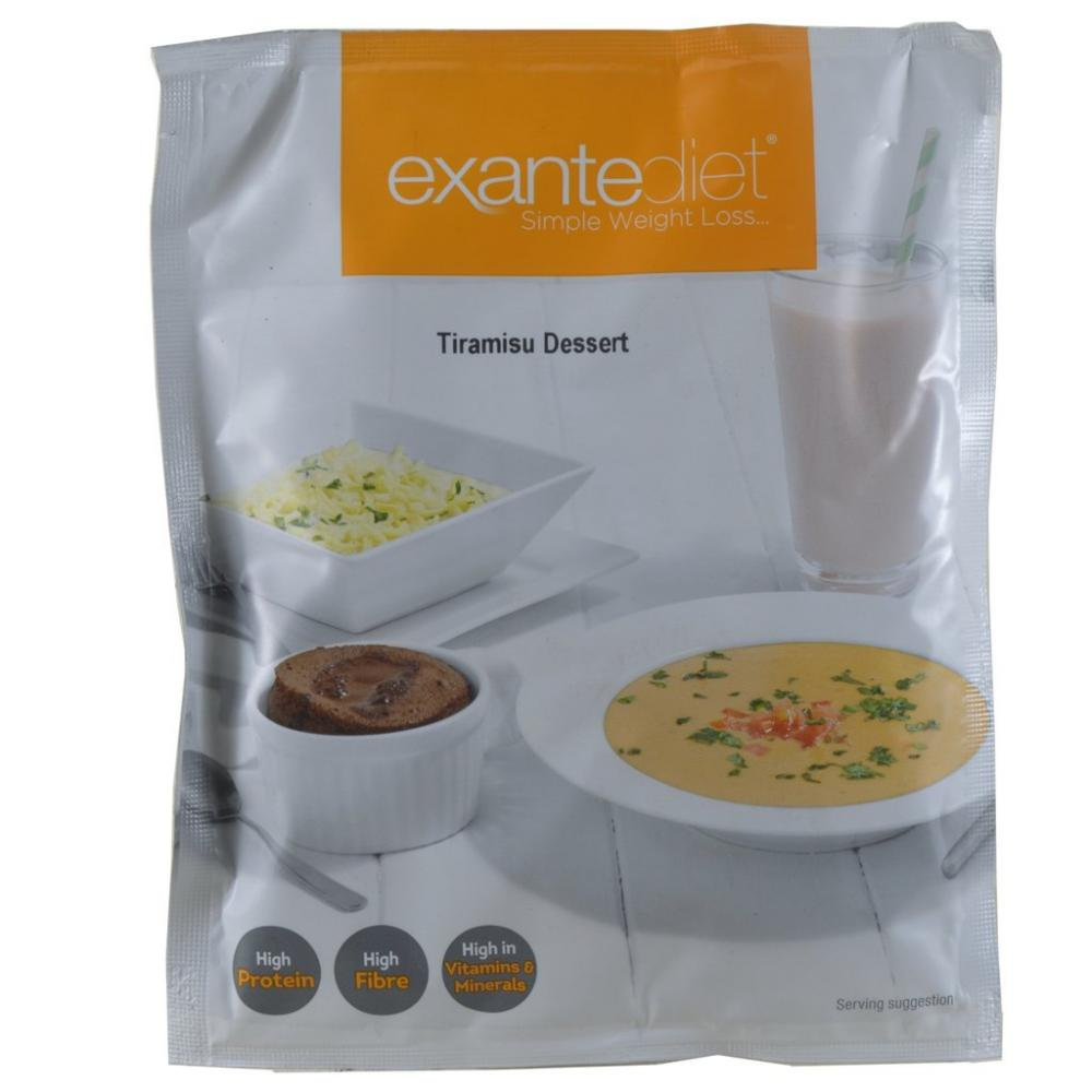 FURTHER REDUCTION  Exante Diet Tiramisu Dessert 54g