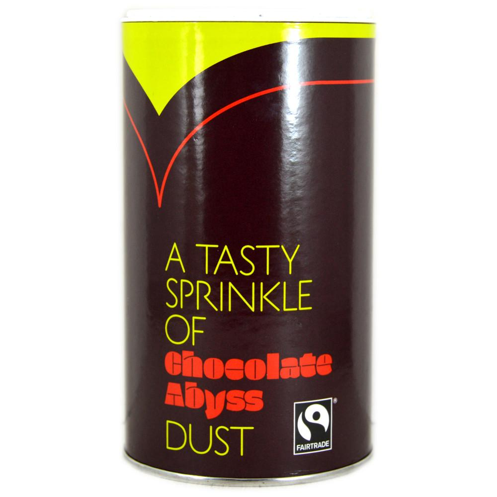 FURTHER REDUCTION  Chocolate Abyss Fairtrade Instant Chocolate Sprinkle Dust 250g