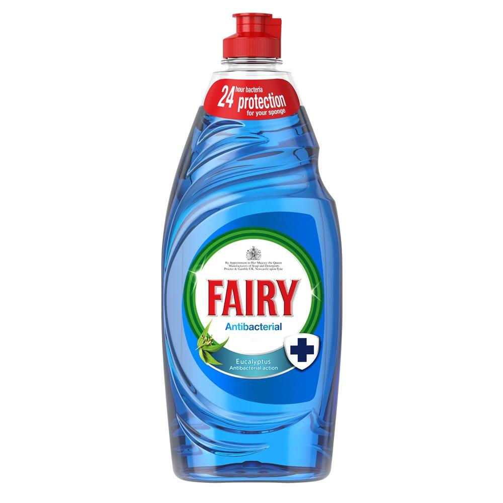 Fairy Antibacterial Eucalyptus Washing Up Liquid 1.05l
