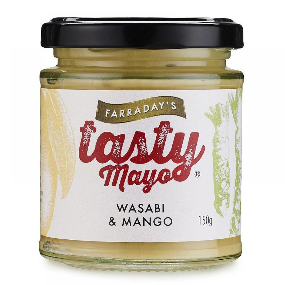 Farradays Tasty Wasabi and Mango Mayo 150g