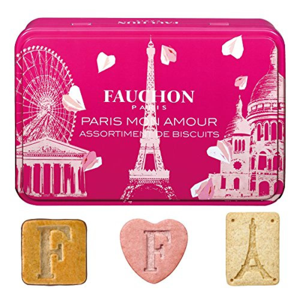 FAUCHON Paris Mon Amour Biscuits Assortment 150g