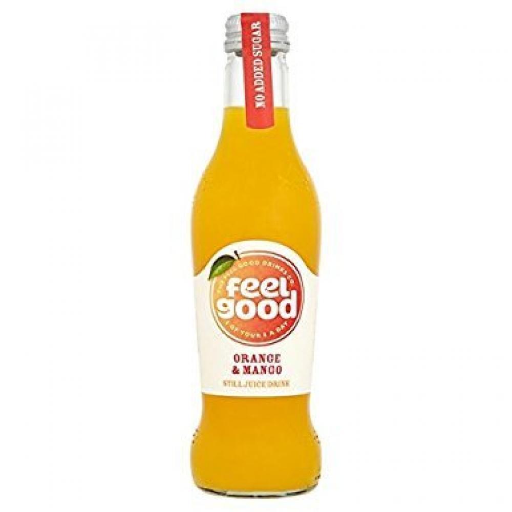 Feel Good Drinks Co Orange and Mango Juice Drink 275 ml