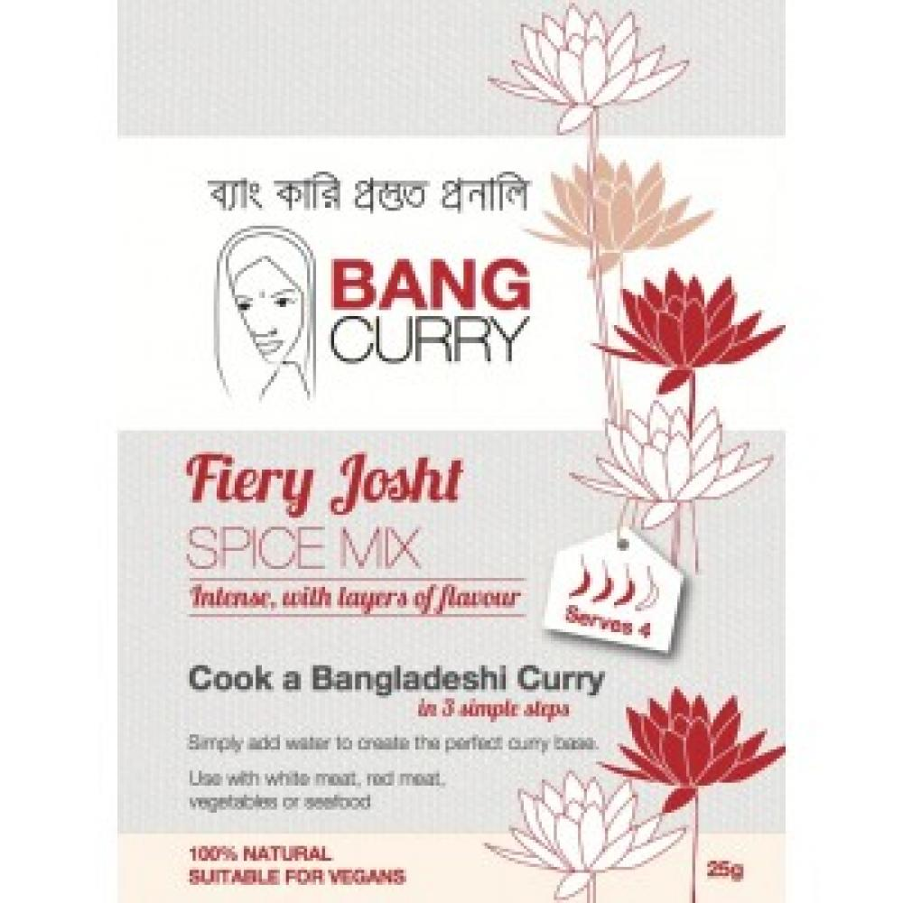 Bang Curry Fiery Josht Spice Mix 25g