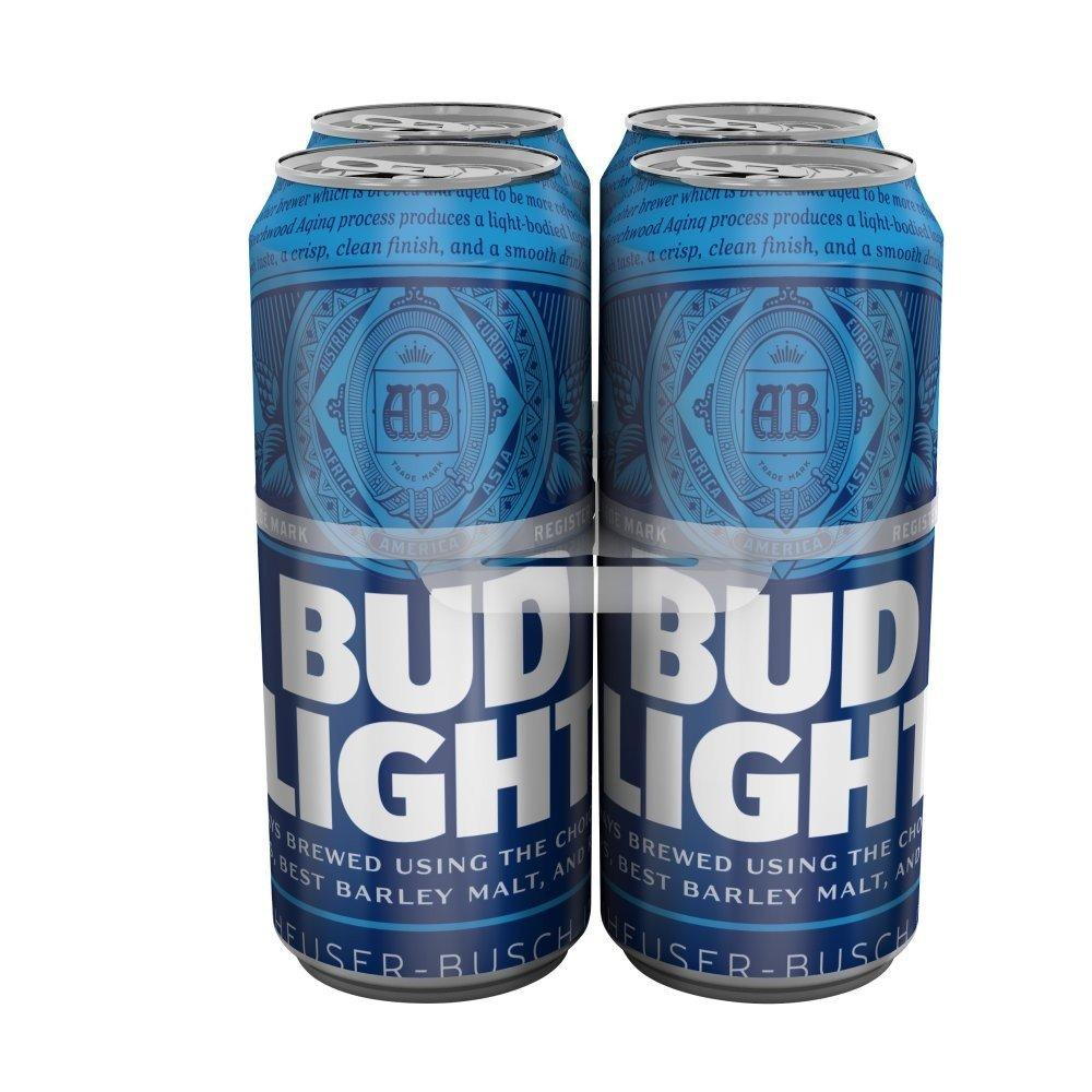 Bud Light 4 x 500ml