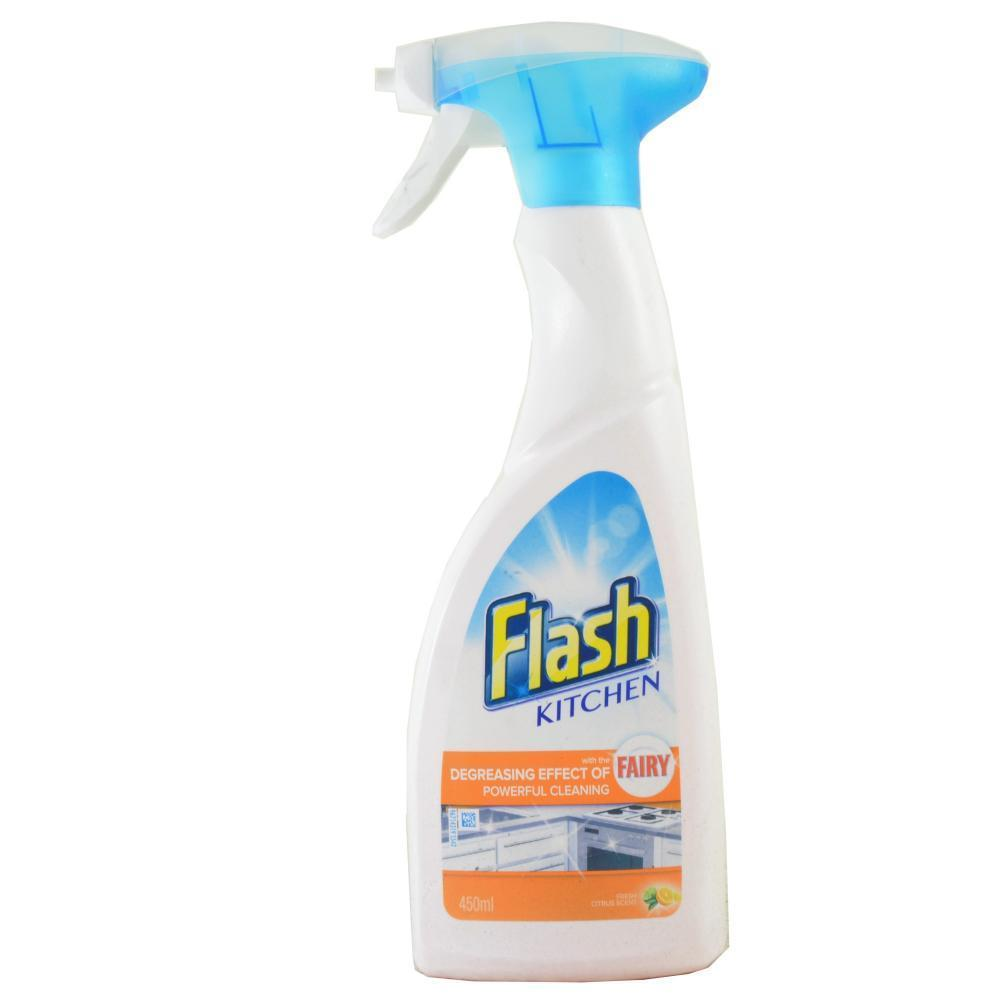 Flash Kitchen Degreasing 450ml