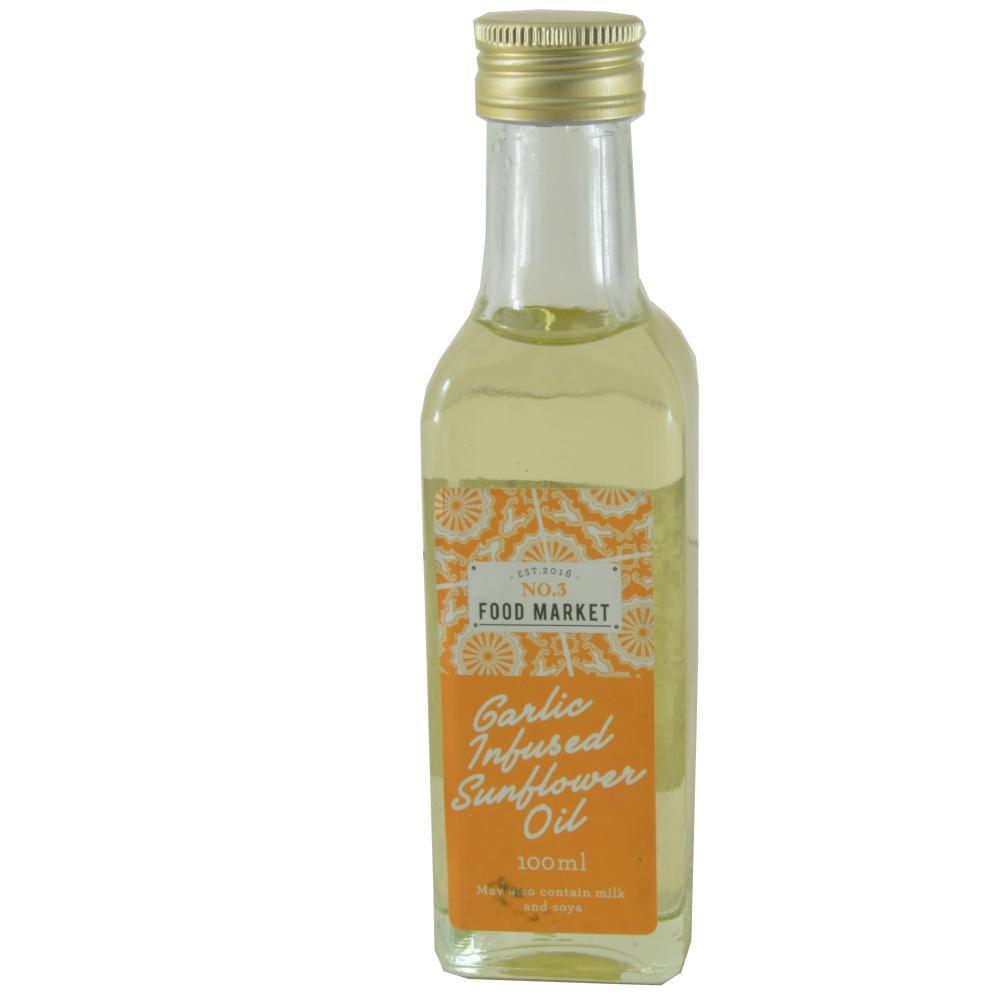 Food Market Garlic Infused Sunflower Oil 100ml