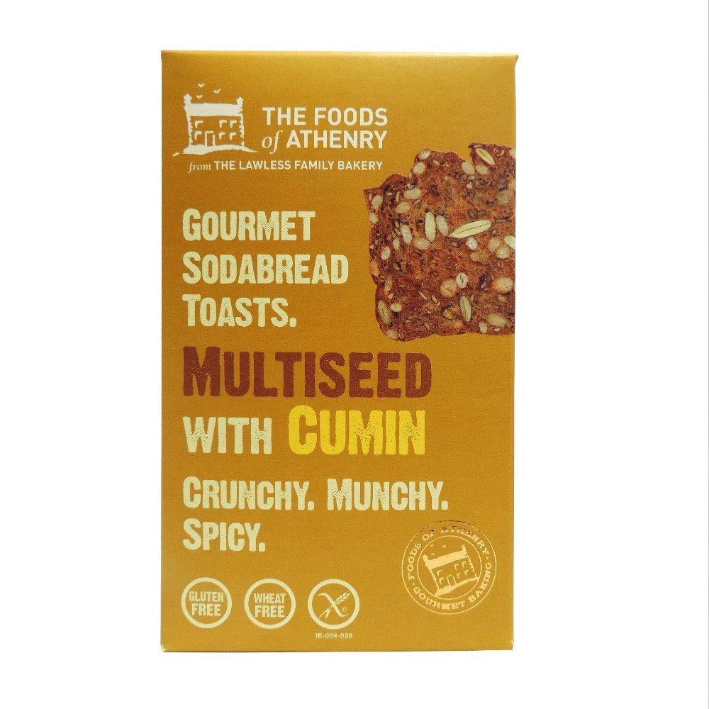 Foods of Athenry Multiseed Cumin Toasts 110g