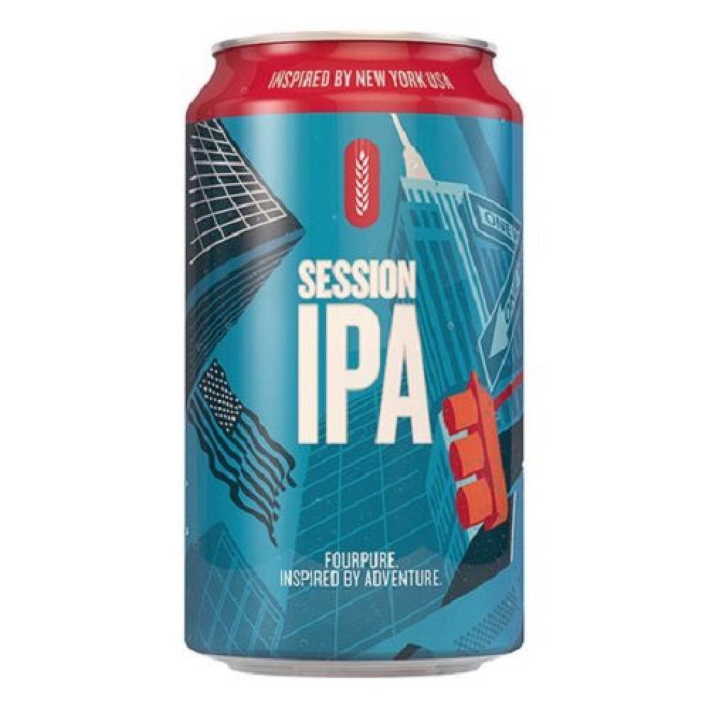Fourpure Brewing Co Session Beer Can 330ml
