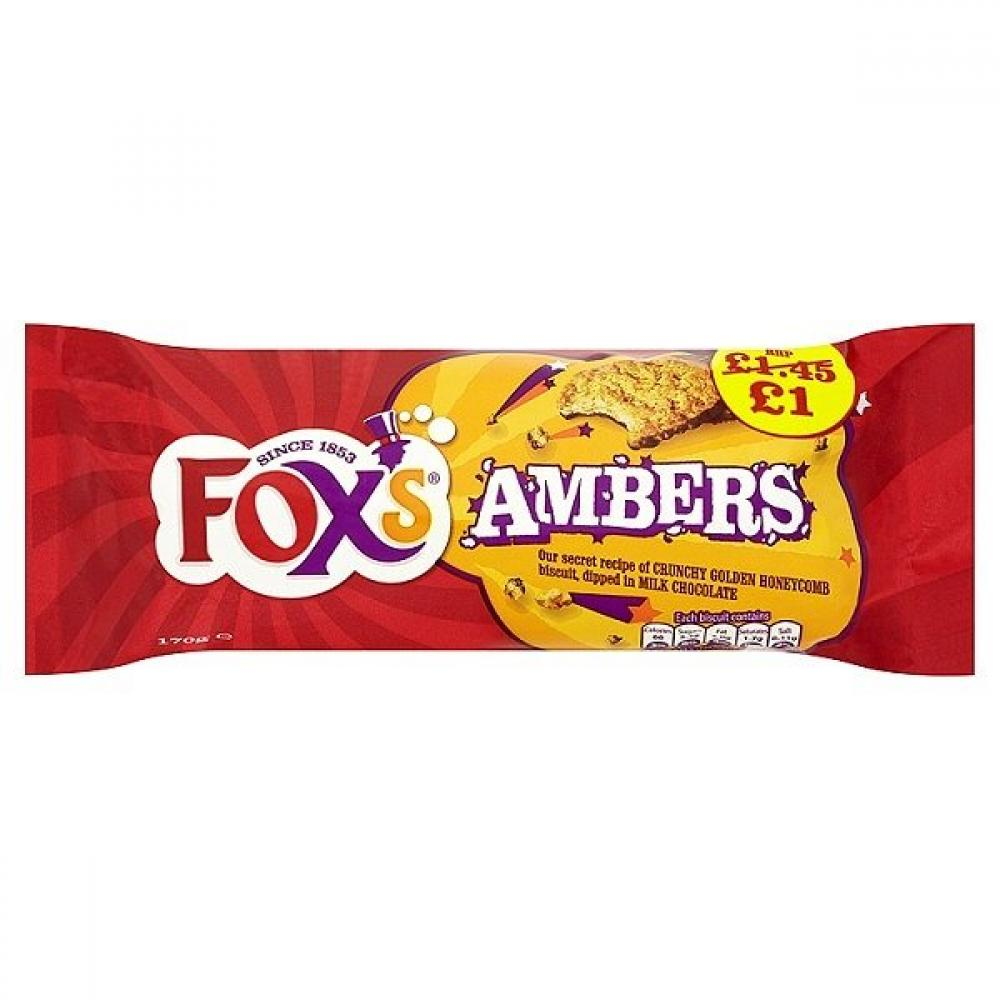 Foxs Ambers 170g