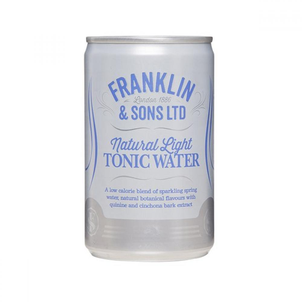 Franklin and Sons Natural Light Tonic Water 150ml