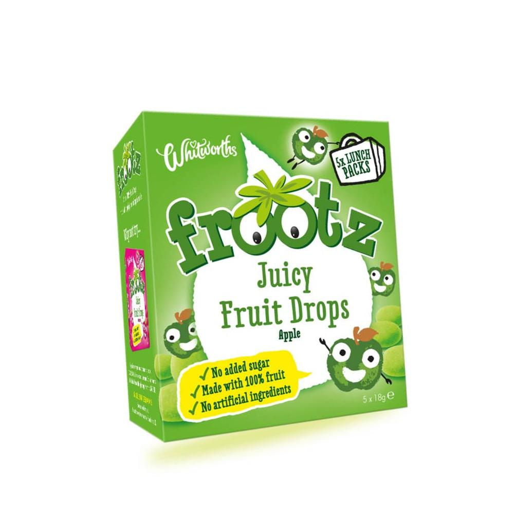 Frootz Juicy Fruit Drops Apple 18g x 5