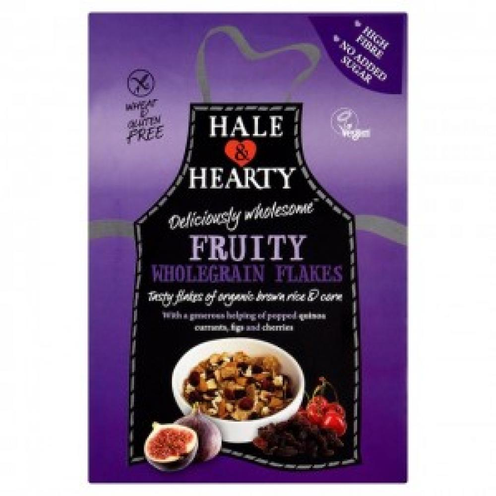 Hale and Hearty Fruity Wholegrain Flakes 350g