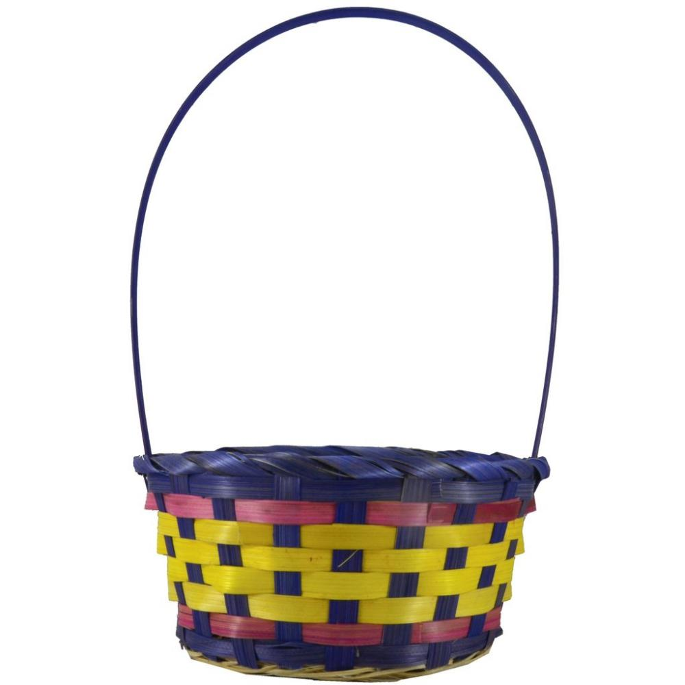 Fun Machine Coloured Basket - Purple, Pink, Yellow Medium