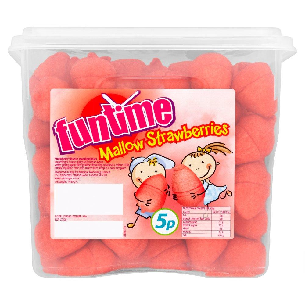 Funtime Mallow Strawberries 1.44kg