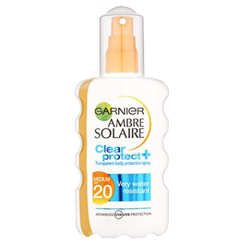 Garnier Ambre Solaire Clear Protect Sun Spray SPF 20 200 ml