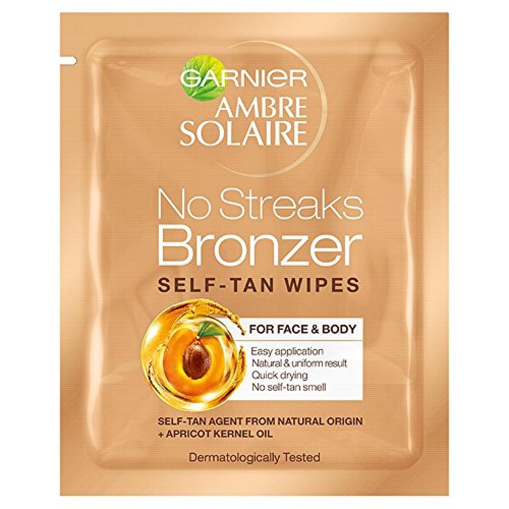Garnier Ambre Solaire Self-Tanning Face Wipes 5.6ml