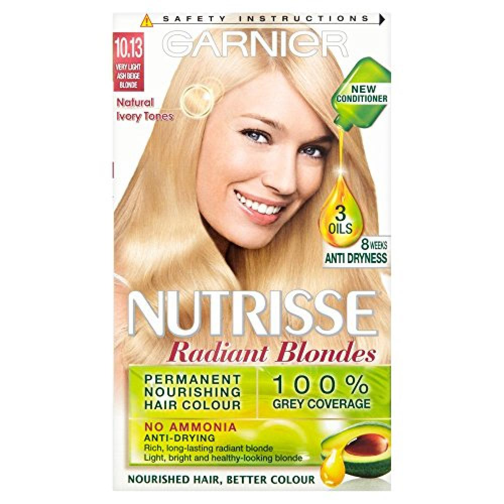 Garnier Radiant Blondes Permanent Hair Colour 1013 Light Ash Beige