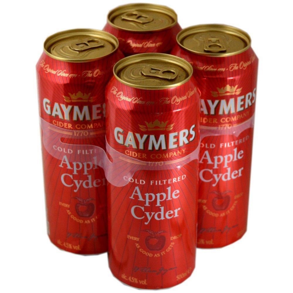 Gaymers Apple Cyder 500ml x 4