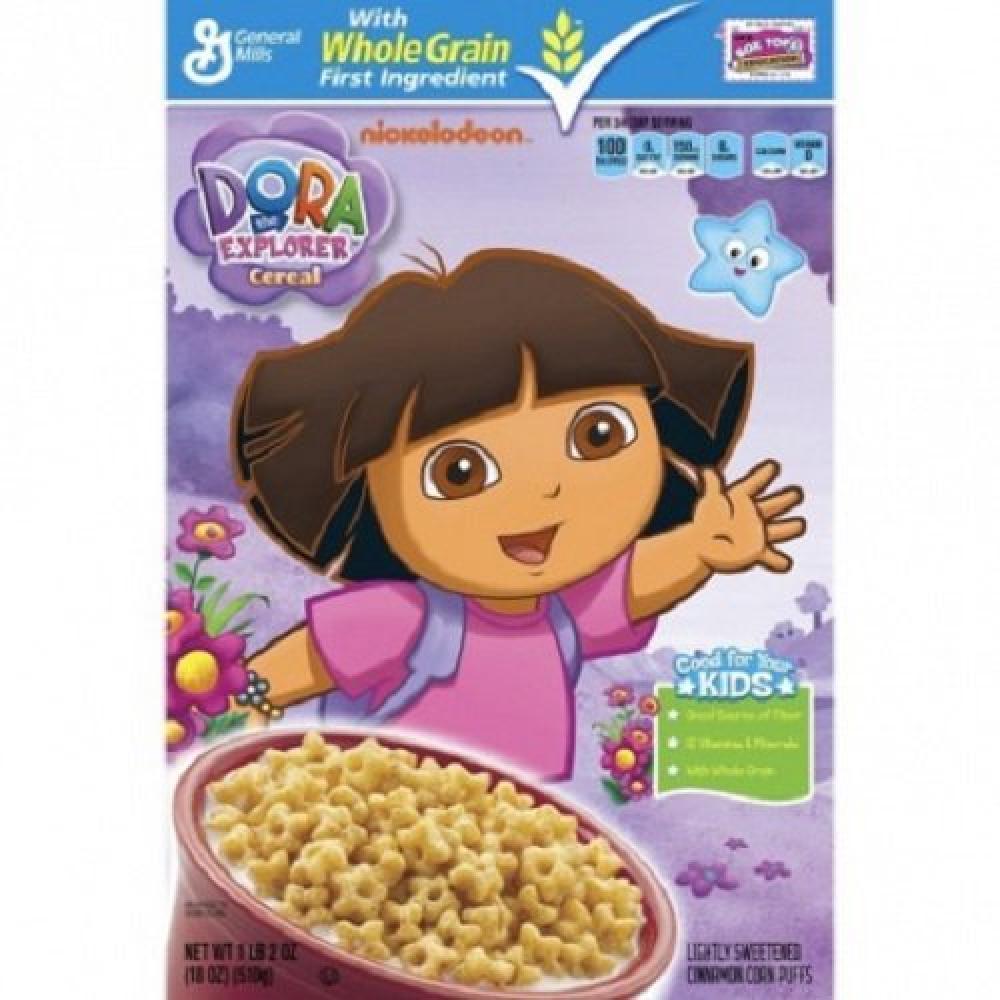 General Mills Dora The Explorer Cereal 510g