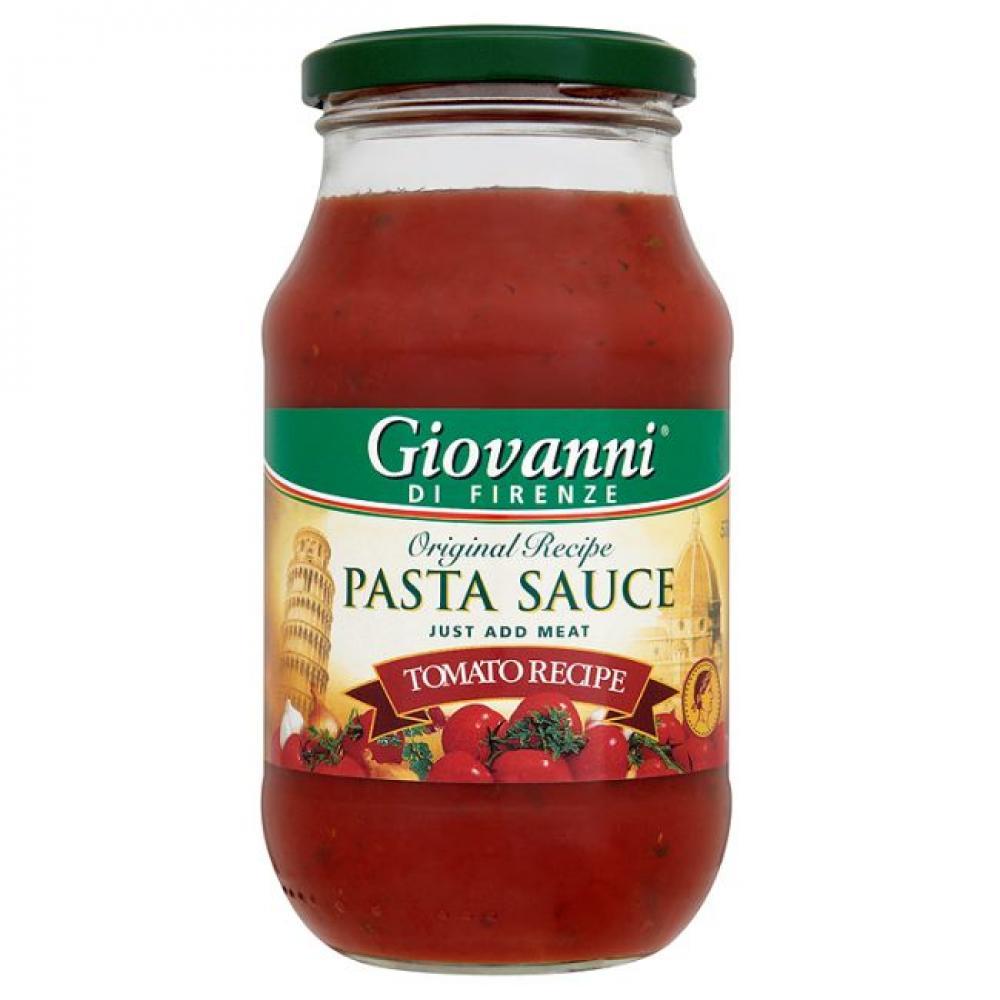 Giovanni Di Firenze Tomato Recipe Pasta Sauce 530g 530g