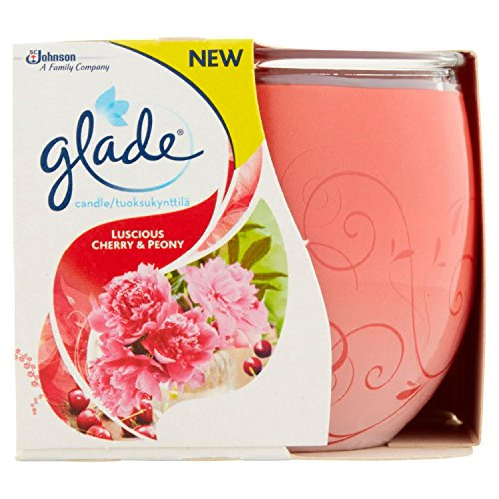 Glade Luscious Cherry and Peony Candle 120g