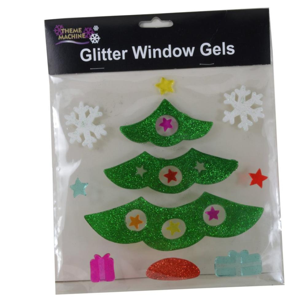 Theme Machine Glitter Window Gels