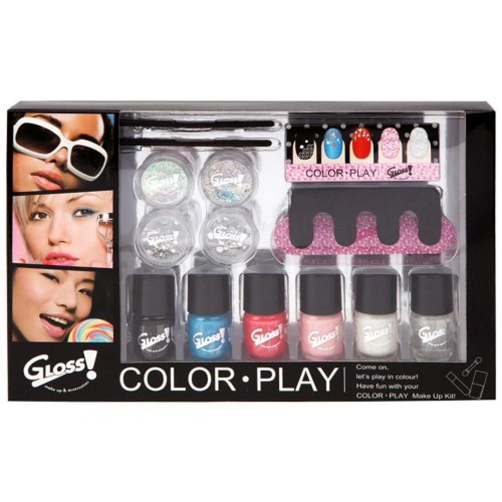 Gloss Color Play Makeup Set - 15 Piece