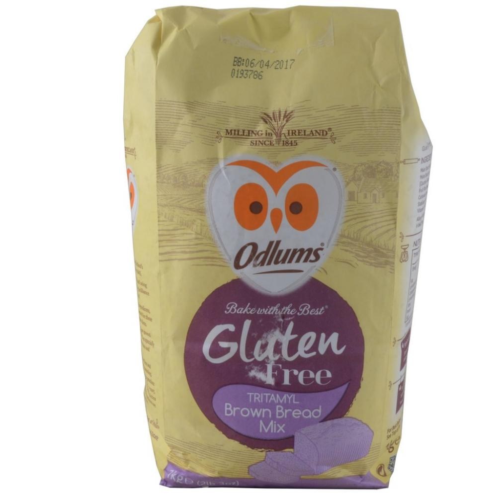 Odlums Gluten Free Brown Bread Mix 1kg