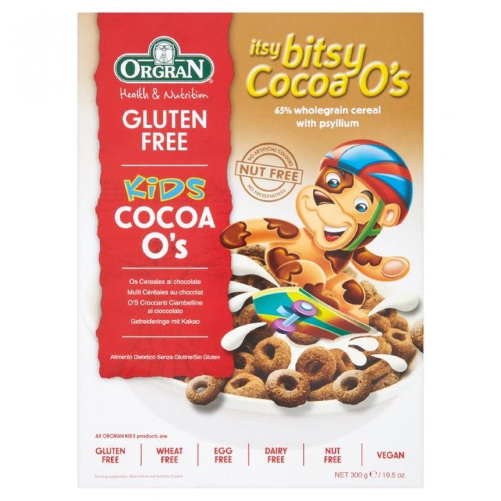Orgran Gluten Free Kids Cocoa Os 300g