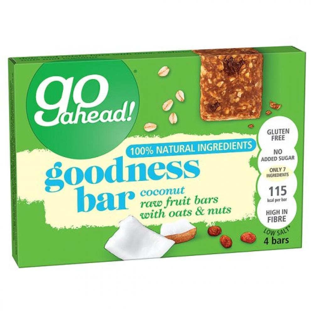 Go Ahead Goodness Bar With Coconut 30g x 4