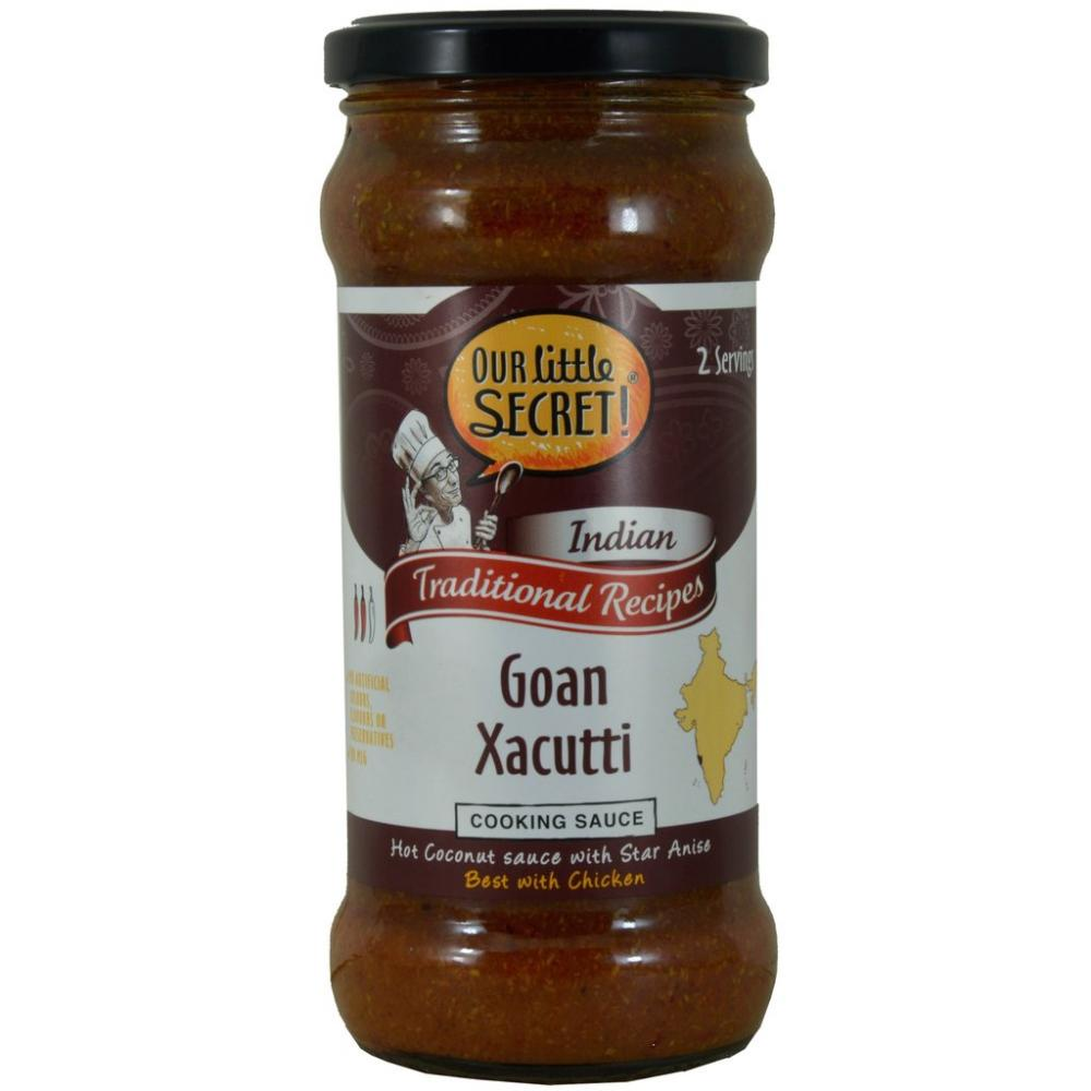 Our Little Secret Goan Xacutti Cooking Sauce 350g