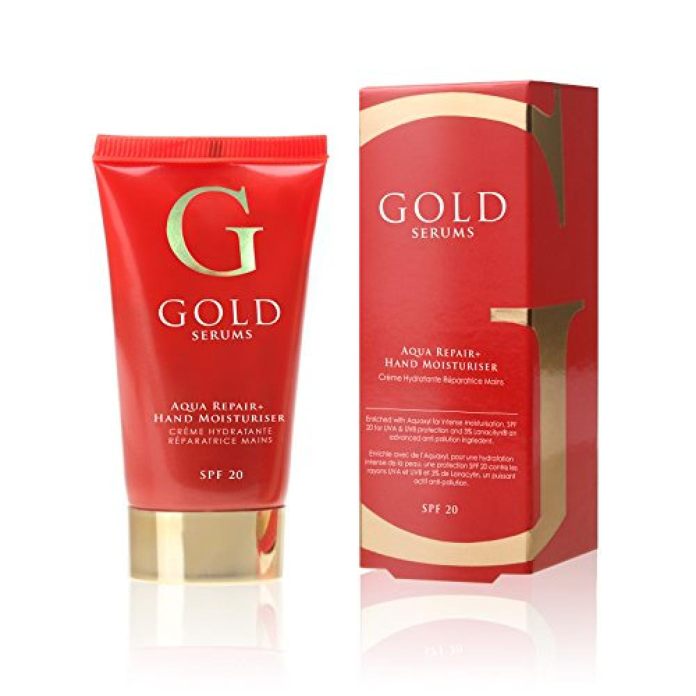 Gold Serums Aqua Repair Plus Hand Moisturiser SPF 20