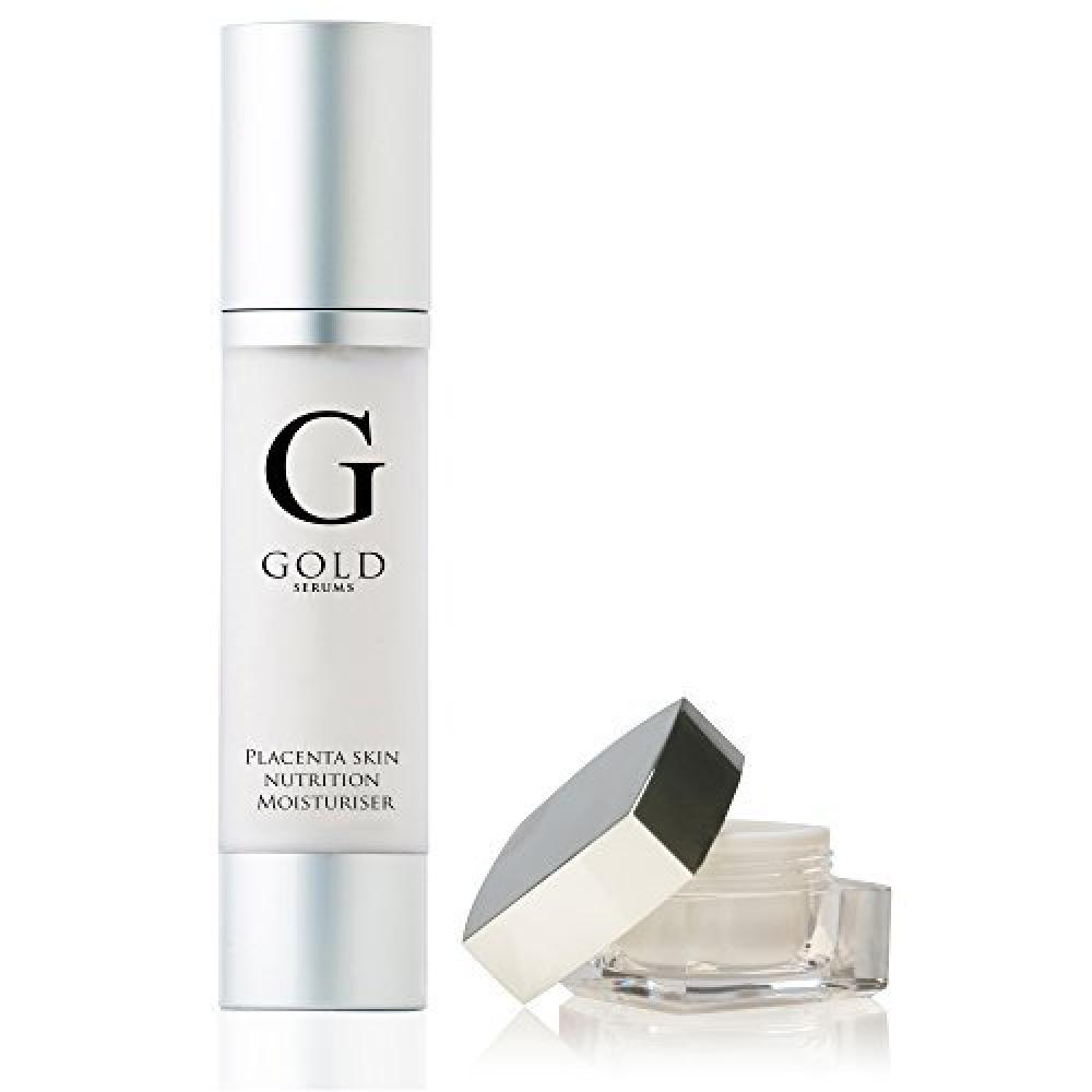 Gold Serums Placenta Eye Gel and Placenta Moisturiser 10ml 50ml